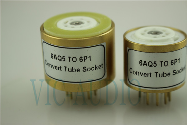 Convert Tube Socket  6AQ5 TO 6P1