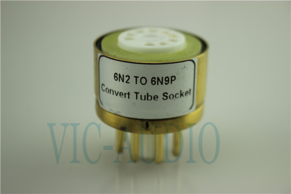Convert Tube Socket  6N2 TO 6N9P