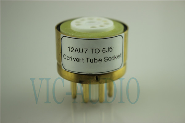 Convert Tube Socket  12AU7 TO 6J5