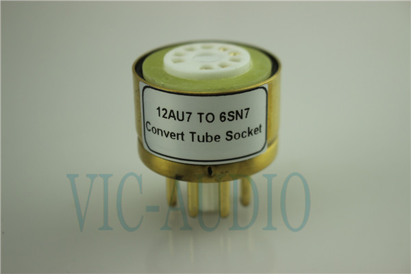 Convert Tube Socket  12AU7 TO 6SN7