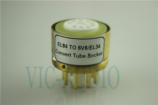 Convert Tube Socket  EL84 TO 6V6/EL34