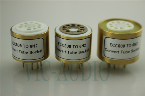 Convert Tube Socket  ECC808 TO 6N2