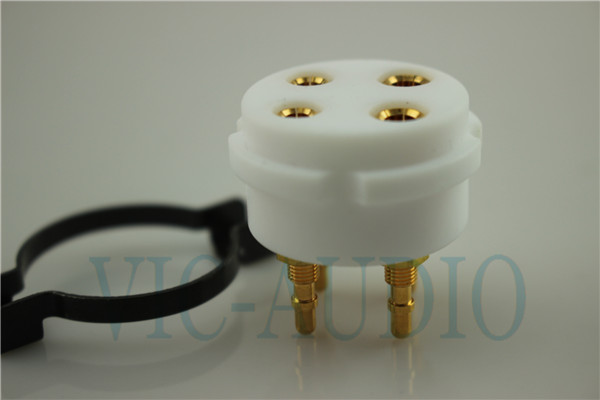 CMC 4Pins Tube Socket