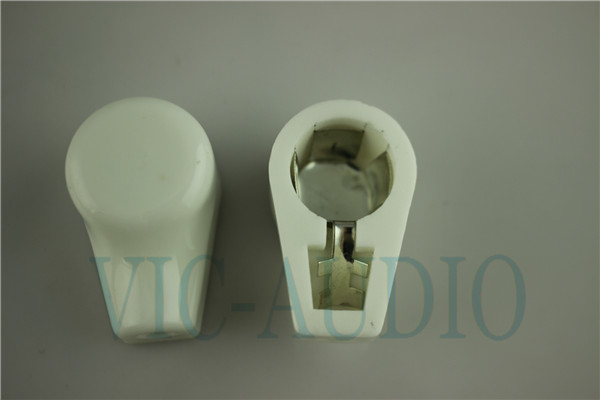 White plated Ceramic ANODE vacuum tube cap/grip cap for 811/845/805/813/FD422/FU33 Tube